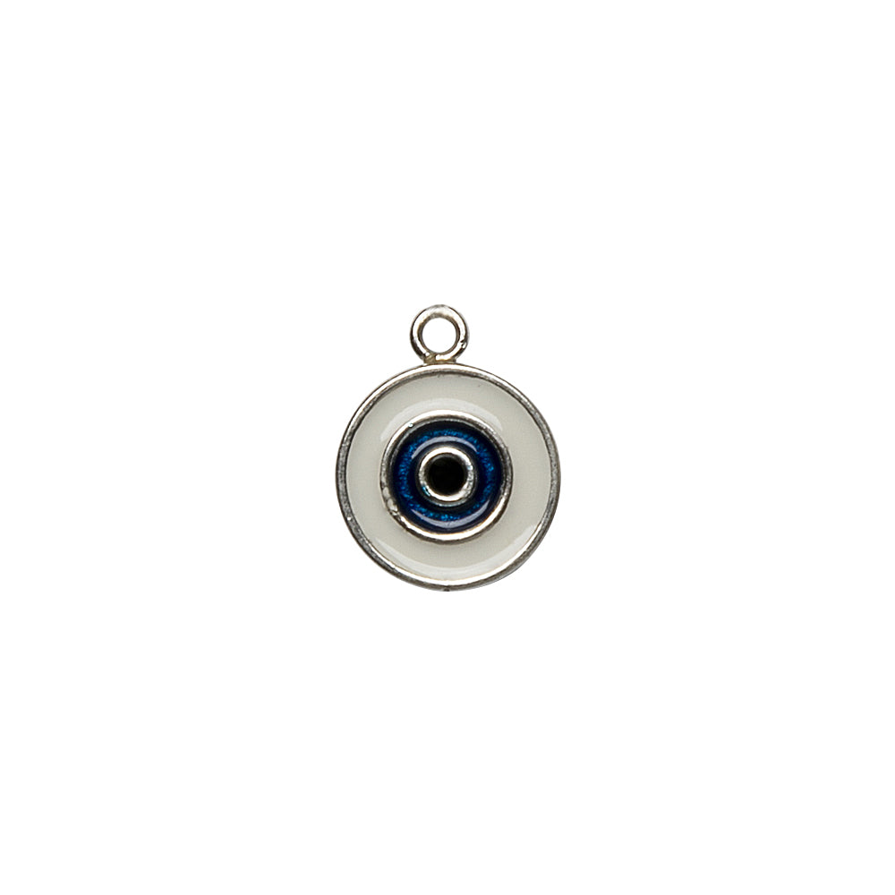 Single Ad-Eye Silver Charm