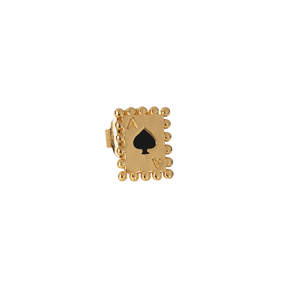 Single Spades Card Stud