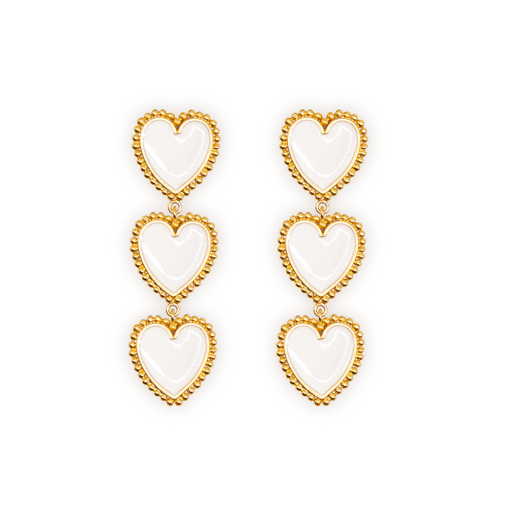 Triple Hartt Earrings