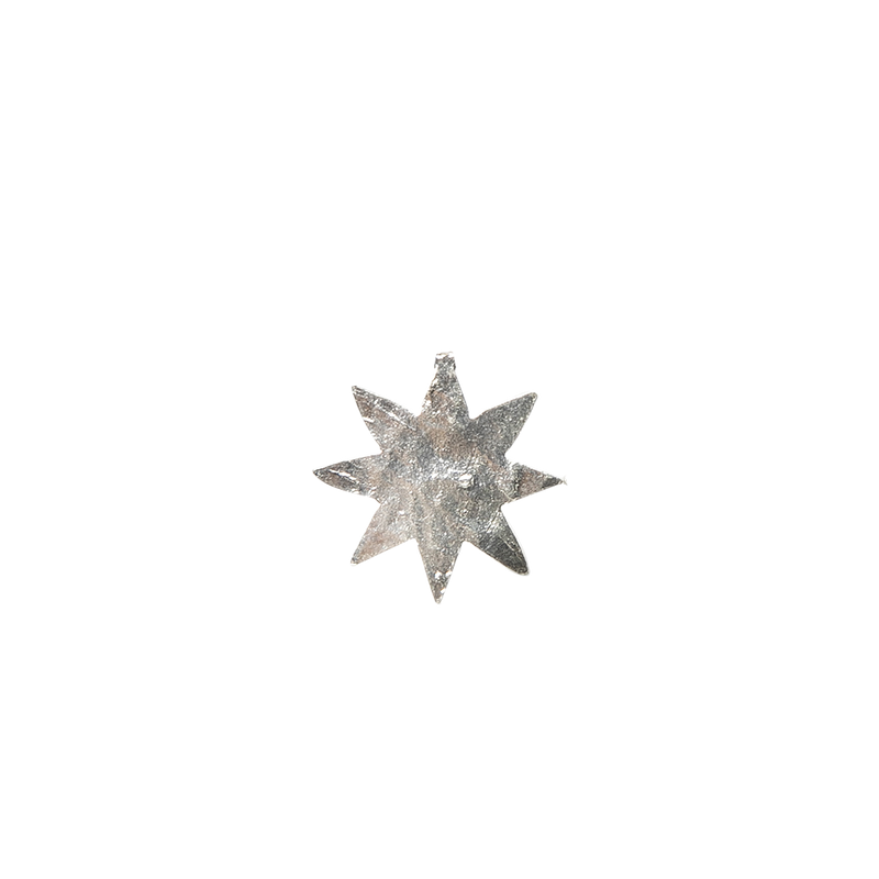 Single Topo Star Mini Plata