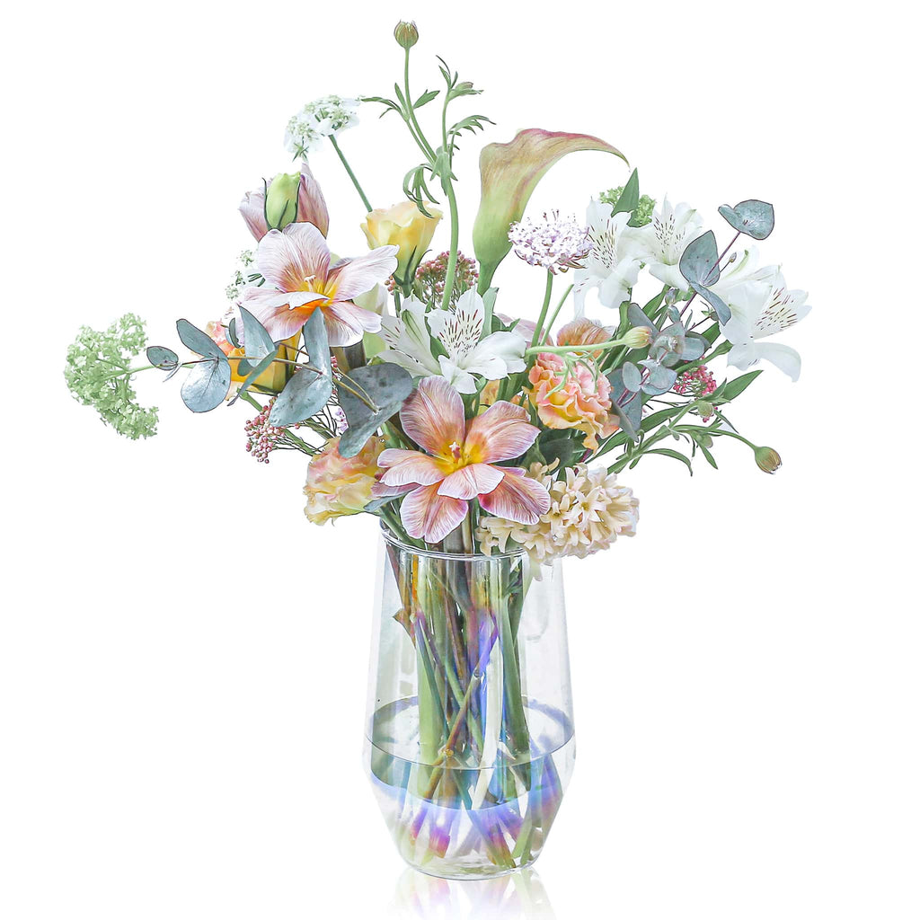 鮮花樽花 花樽 Fresh Flowers in a Vase