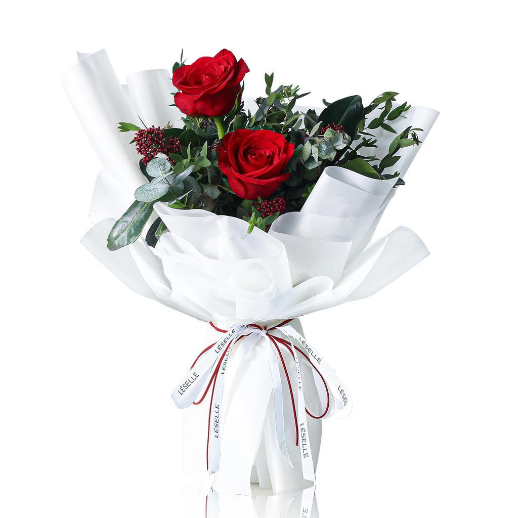 Kenya Red Rose Fresh Flower Bouquet 紅玫瑰鮮花花束