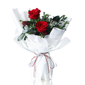 Kenya Red Rose Fresh Flower Bouquet