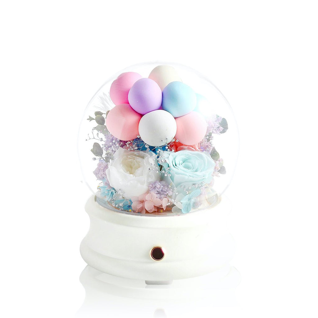 Crystal Ball Bluetooth Speaker with LED|Forever Rose|Léselle