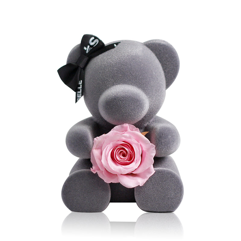 Eternal Rose Bear (Pink)