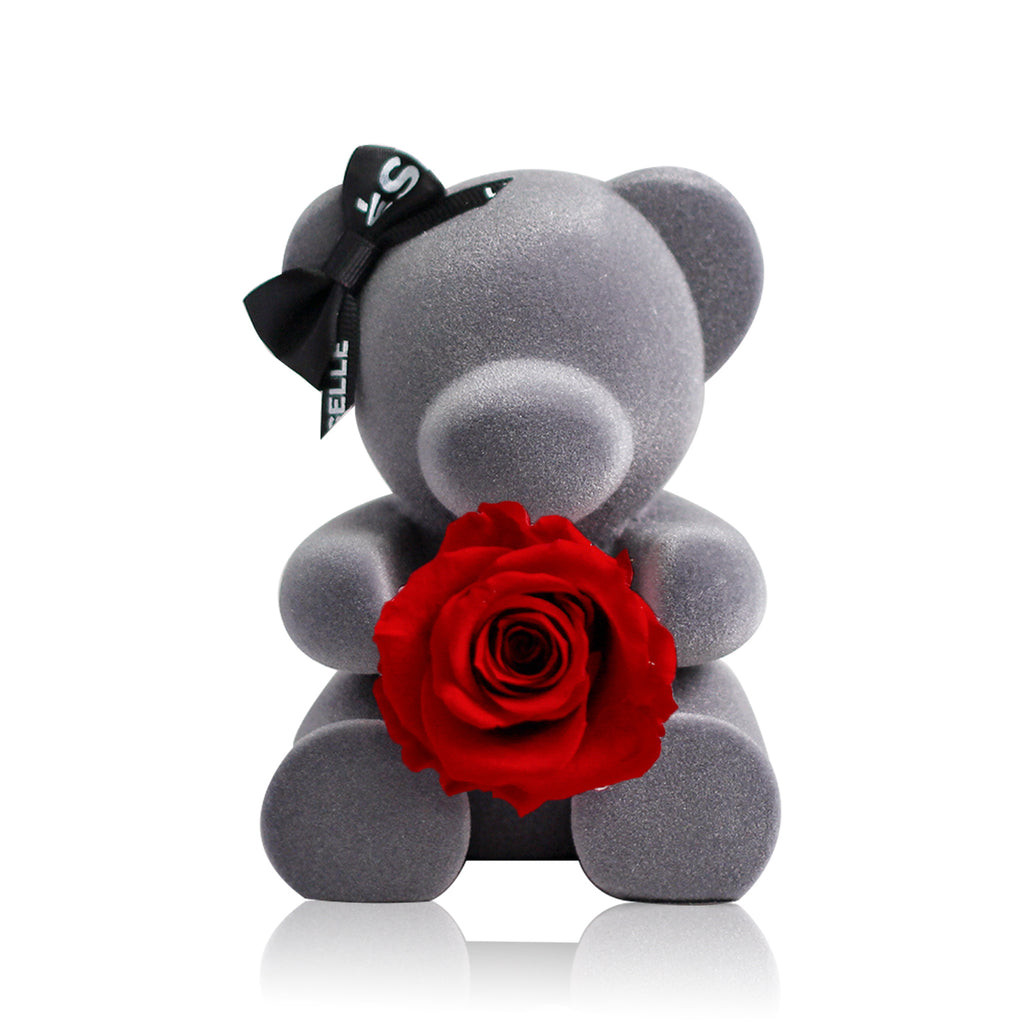 Eternal Rose Bear (Red)