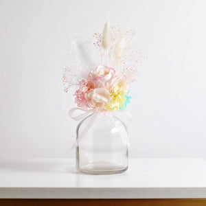 Forever Rose in a Vase (Rainbow)