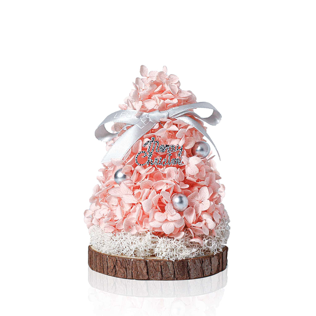 Mini Eternal Christmas Tree (Pink) 迷你永生花聖誕樹