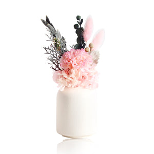 Eternal Carnation in a Vase (Pink)