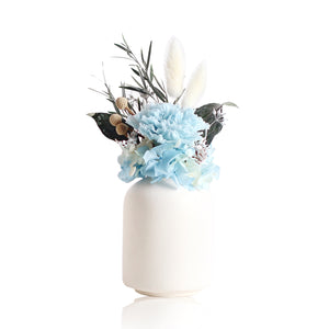 Eternal Carnation in a Vase (Blue)