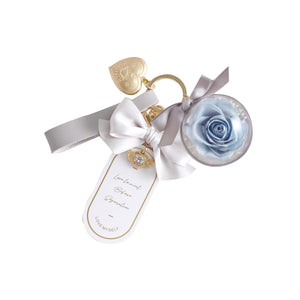 Keyring (Light Grey Blue)