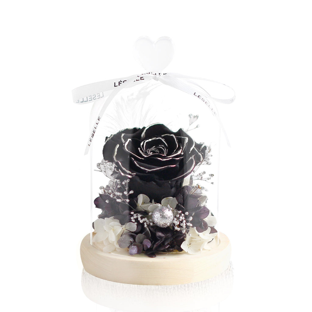 Mini Rose (Black)