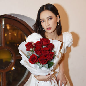 情人節紅玫瑰花束 Valentine's Day Red Rose Flower Bouquet