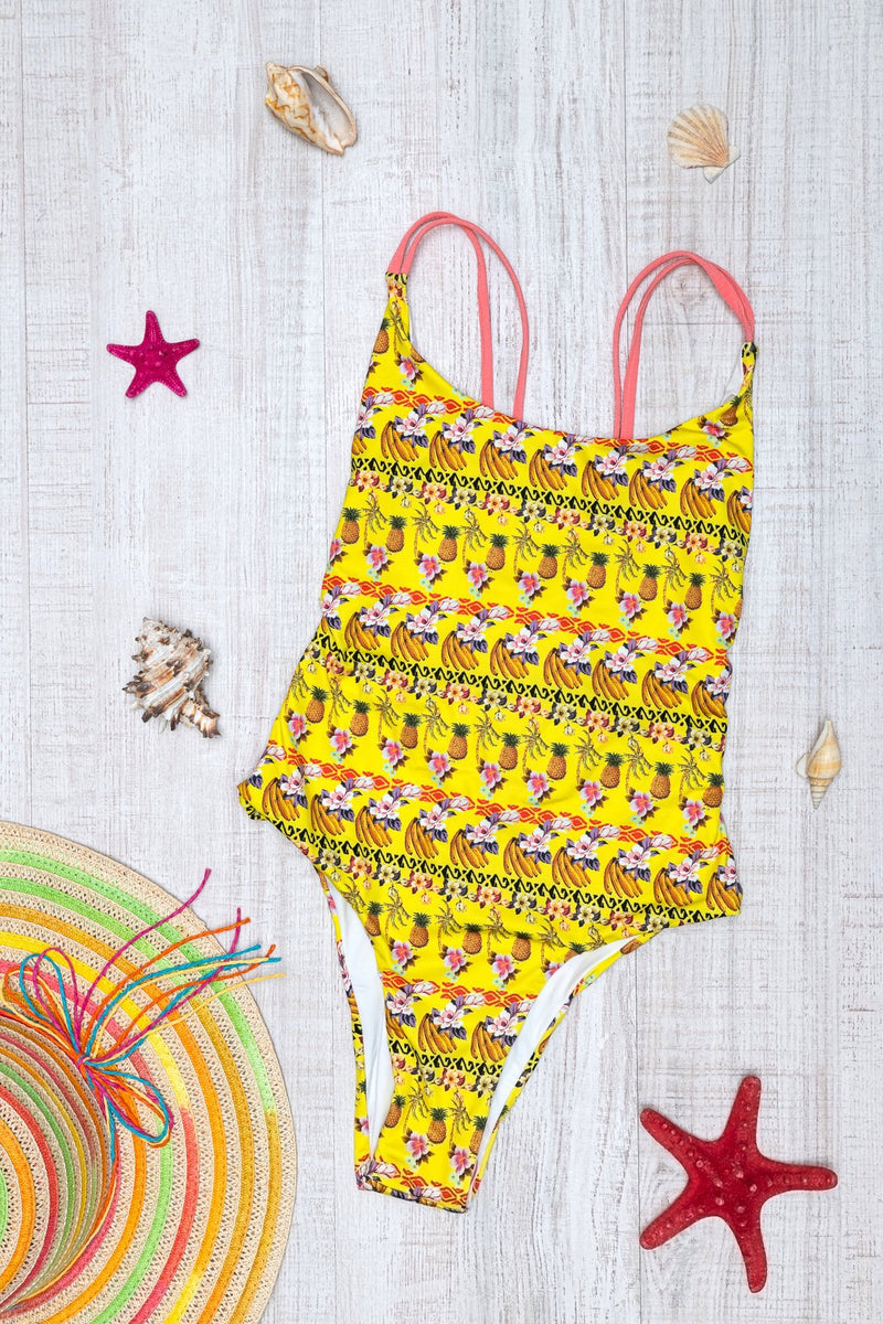 One piece Isabelle Roada Swimwear(yellow) Miriam Swimwear