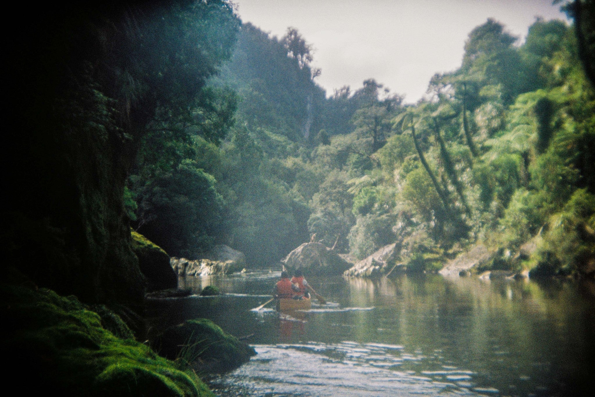 Canoeing the Rata River New Zealand - Sanborn Canoe Scout Field Log