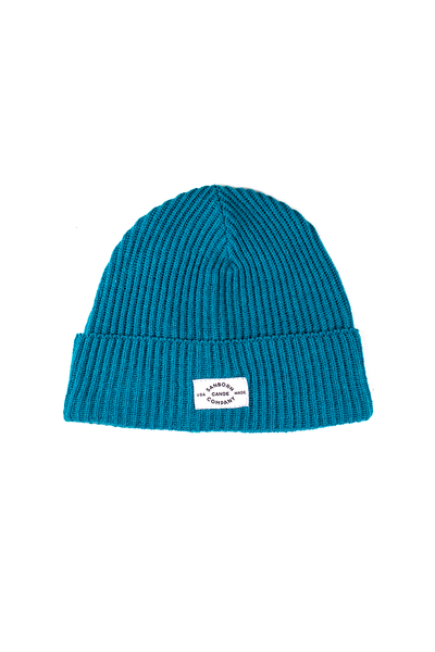 Merino Wool Beanie - Lightweight • Adventure Style Wool Winter Hat Teal