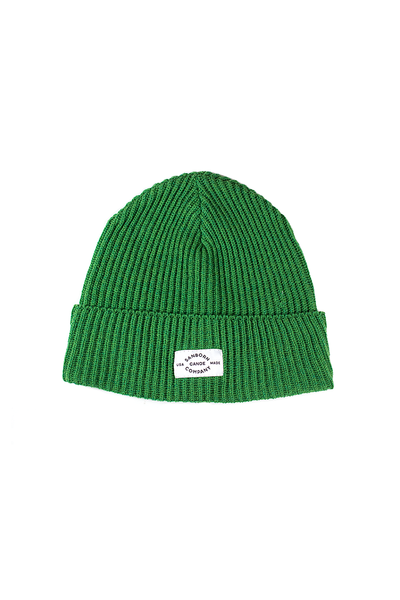 Merino Wool Beanie - Lightweight • Adventure Style Wool Winter Hat Green