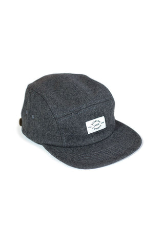 MELTON WOOL 5-PANEL CAP