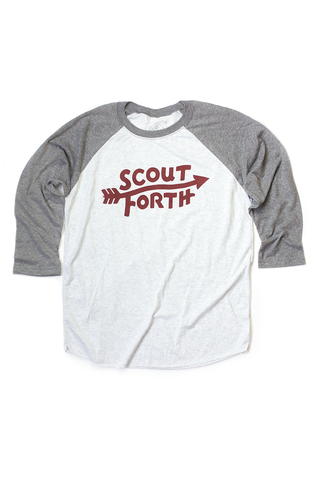 SCOUTFORTH BASEBALL TEE