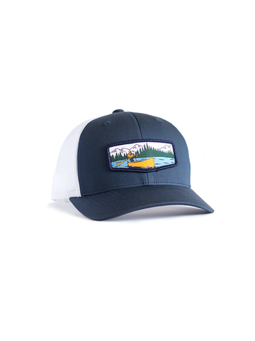 Canoeist Hat - Trucker Navy