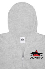 Load image into Gallery viewer, Gray Zipper Hoodie