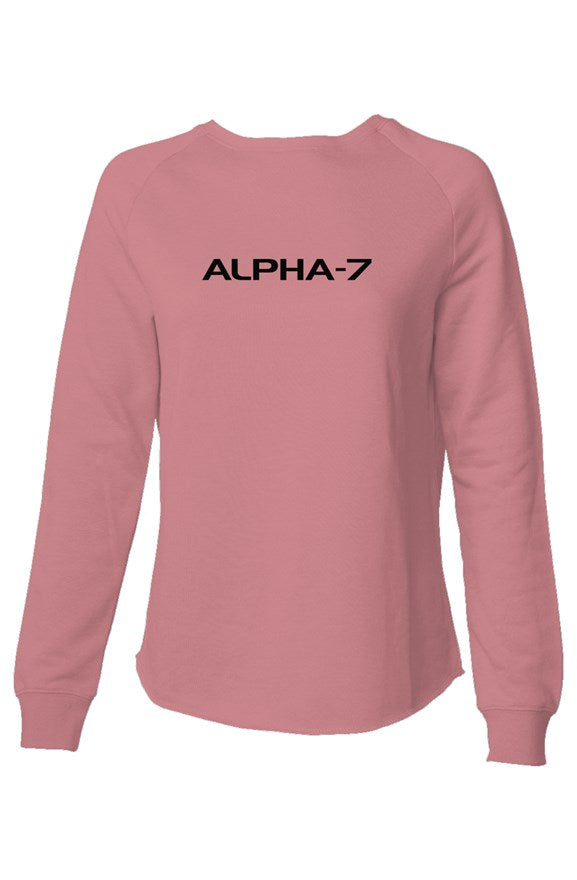 Womens Dusty Rose Sweatshirt