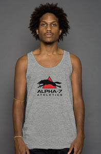 Mens Deep Heather Tank