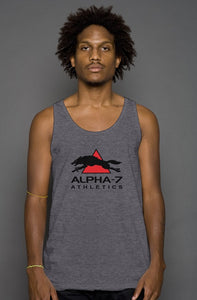 Mens Dark Gray Tank