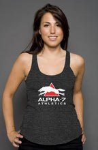 Load image into Gallery viewer, Womens Black Heather Tank