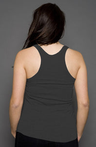 Womens Dark Gray Tank