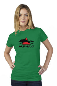 Womens Green Tshirt