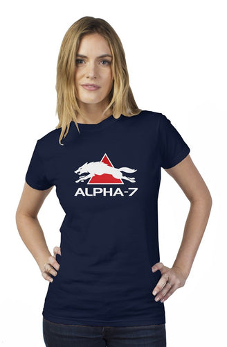 Womens Navy Blue Tshirt