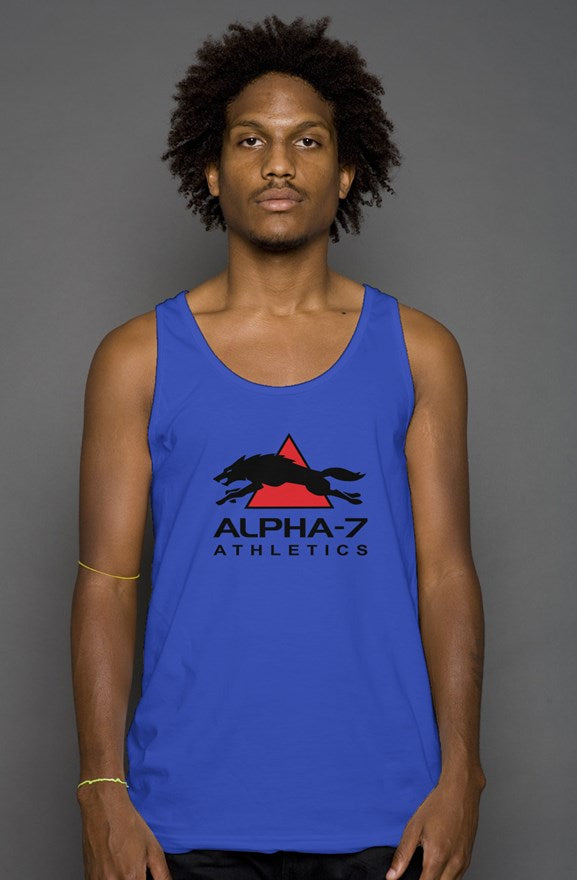 Unisex Royal Blue Tank