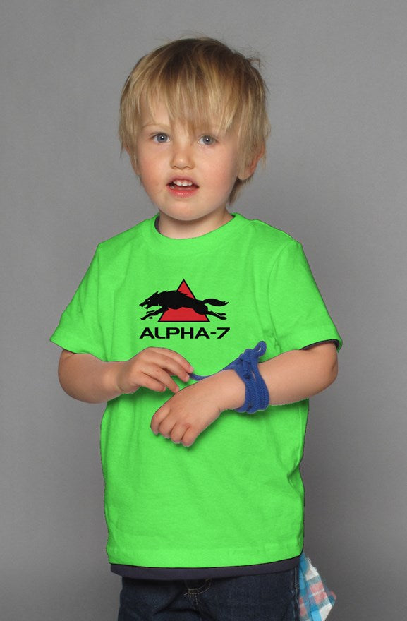 Kids Neon Green T-Shirt