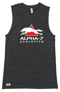 Unisex Dark Gray Muscle Tank