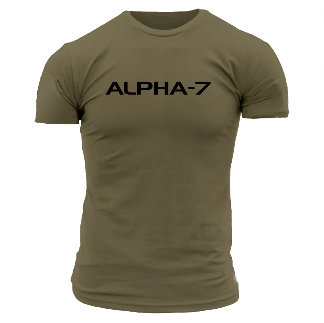 Mens Military Green Tshirt