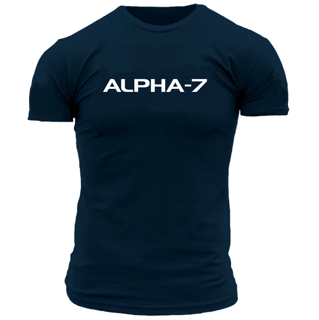 Mens Navy Blue Tshirt
