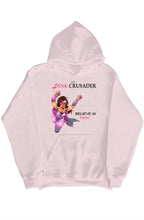 Load image into Gallery viewer, Pink Crusader Pullover Hoodie 3