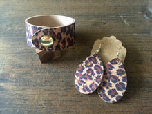 Load image into Gallery viewer, Leopard Cork Earrings (additional styles)