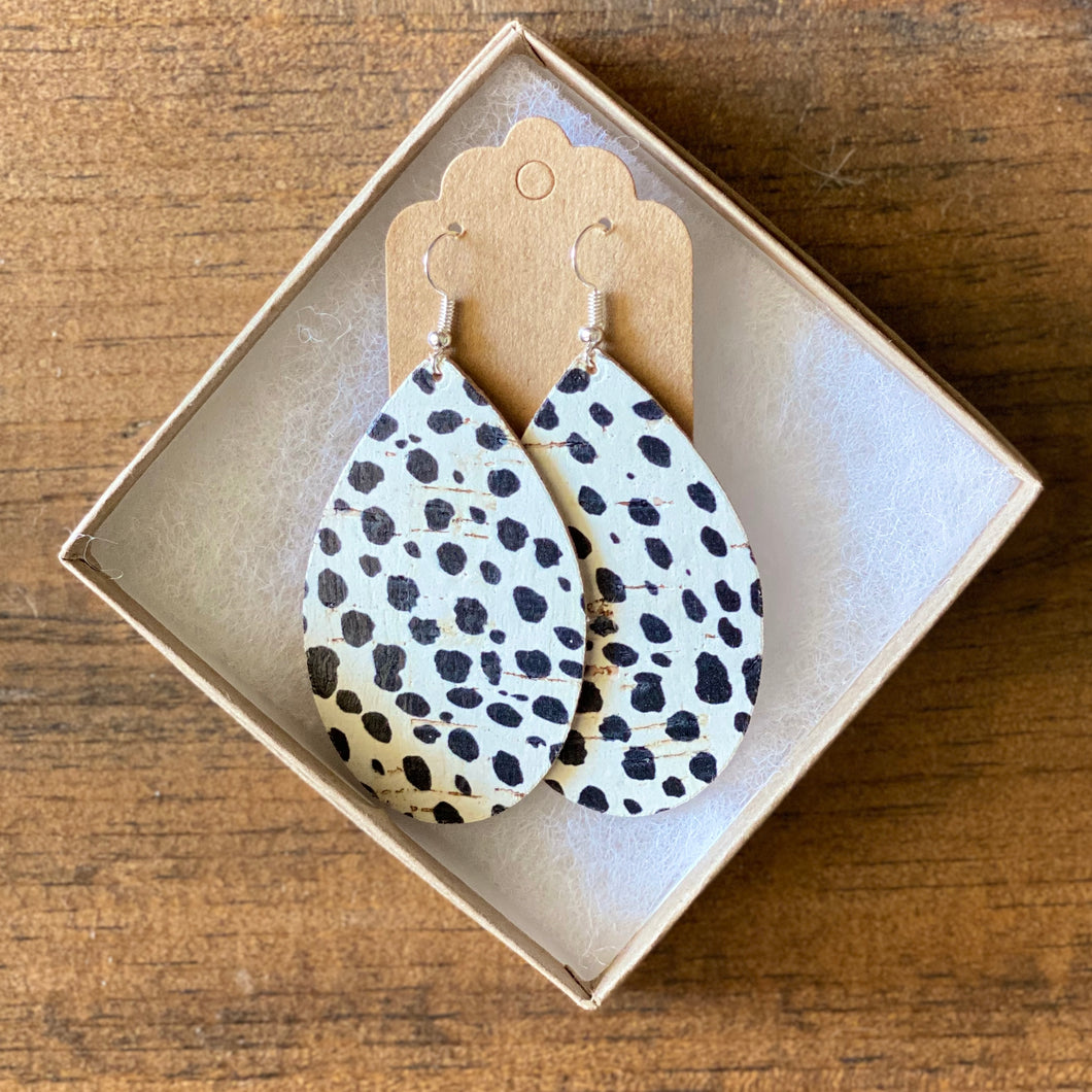 Spotted Animal Print Earrings (additional styles)