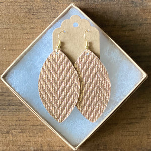 Rose Gold Zigzag Leather (additional styles)