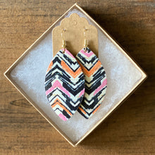 Load image into Gallery viewer, Pink and Orange Chevron Cork (additional styles)