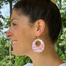 Load image into Gallery viewer, Arizona Sunset Cork Leather Earrings