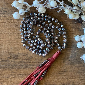 Holiday Tassel Necklaces