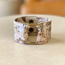 Load image into Gallery viewer, Golden Wildwood Wide Cuff