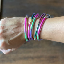 Load image into Gallery viewer, Rainbow Silicone Bracelets