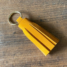 Load image into Gallery viewer, Suede Leather Tassel Keychains