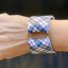 Load image into Gallery viewer, Tartan Plaid Wide Cuff
