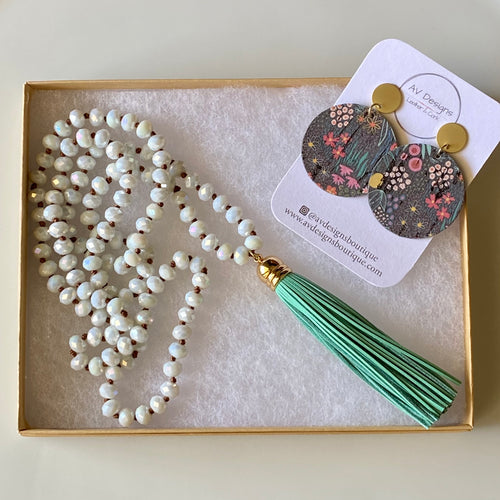 Spring Meadow Earring and Necklace Gift Set