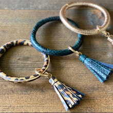Load image into Gallery viewer, Key Chain Bangle Bracelets (additional colors)